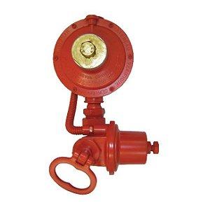Regulador de Gás Industrial 30kg/h Vermelho DSA 76511/03 Aliança