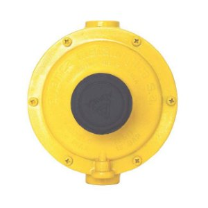 Regulador de Gás Industrial 12kg/h Amarelo 76511 Aliança