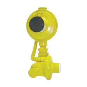 Regulador de Gás Industrial 12kg/h Amarelo DSA 76511 Aliança