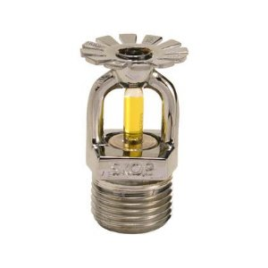 Sprinkler RTR 15mm Pendente Amarelo 79C° Cromado Skop