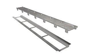 Ralo Linear Elleve Infinity Inox Tampa Oculta 120cm 258 Ralo Linear