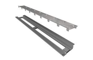 Ralo Linear Elleve Infinity Line PVC Tampa Oculta 130cm 469 Ralo Linear