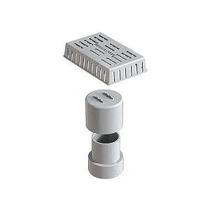 Kit Sifão Vertical com Grade Retentora 919 Novii Ralo Linear