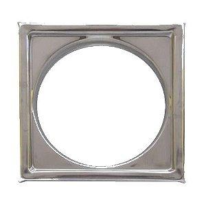 Porta Grelha Quadrada Inox 150mm Clarinox