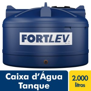 Tanque Polietileno 2.000L Fortlev