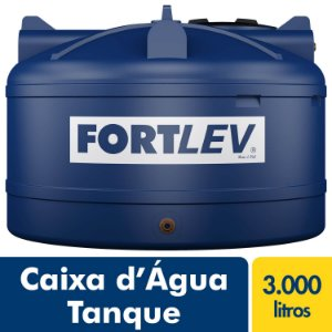 Tanque Polietileno 3.000L Fortlev