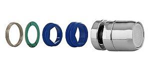 Arejador Completo Metal com Articulador para Torneira de Cozinha Padrão Deca, Fabrimar e Docol 100602 Blukit