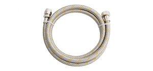 """Ligação Flexível para Instalação de Gás 1,2m 1/2""""(F) x 3/8(F) 181903 Blukit"""