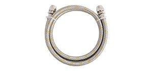 Ligação Flexível para Instalação de Gás 1,5m 3/8(F) x 3/8(F) 182103 Blukit