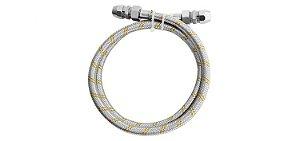 Kit para Instalação de Gás Flexivel 1,2 m 1/2''(F) x 3/8 180301 Blukit