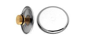 "Plug com Canopla em ABS 1/2"" 171101 Blukit"