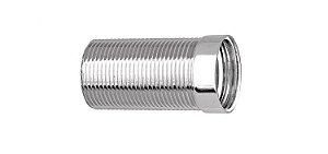 Prolongador para Válvula de Lavatório Cromado 172004 Blukit