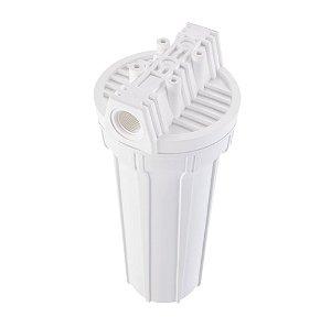 "Filtro Ponto de Uso 7"" Acquacarbon Branco para Torneira 907-0022 Hidrofiltros"