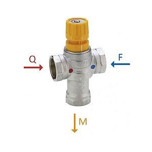 """Válvula Misturadora Termostática para Água Sanitária de Instalação Solar 1"""" Emmeti"""