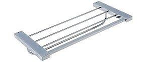Porta Toalha Rack 45cm Omega Cromado Crismoe
