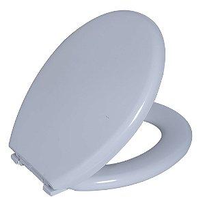 Assento Sanitário Convencional PP Almofadado TPK/AS Branco Astra