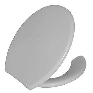 Assento Sanitário com Abertura Frontal Plástico com Tampa TPJU Branco Astra