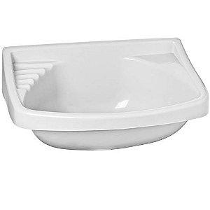 Lavatório Plástico para Banheiro 4,8 Litros LV0 Branco Astra