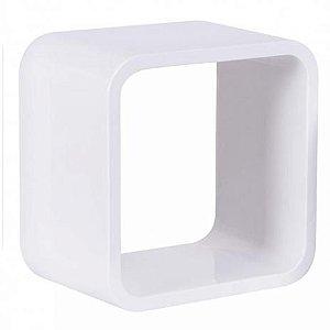 Nicho Quadrado Plástico 26cm Branco Astra