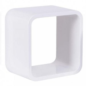 Nicho Quadrado Plástico 31cm Branco Astra
