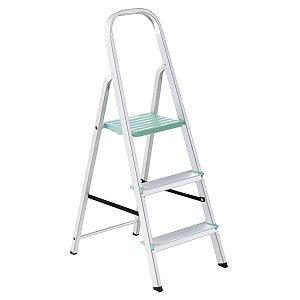 Escada de Alumínio Classic 3 Degraus Ref. 91850/103 Tramontina