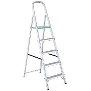 Escada de Alumínio Classic 5 Degraus Ref. 91850/105 Tramontina