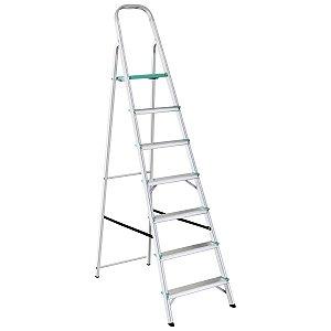 Escada de Alumínio Classic 7 Degraus Ref. 91850/107 Tramontina