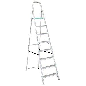 Escada de Alumínio Classic 8 Degraus Ref. 91850/108 Tramontina