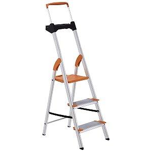 Escada de Alumínio Premium 3 Degraus Ref. 91850/113 Tramontina