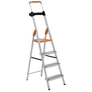 Escada de Alumínio Premium 4 Degraus Ref. 91850/114 Tramontina