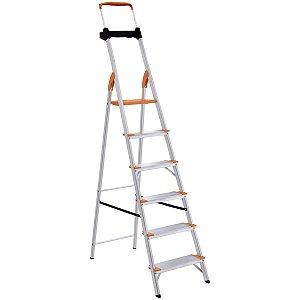 Escada de Alumínio Premium 6 Degraus Ref. 91850/116 Tramontina