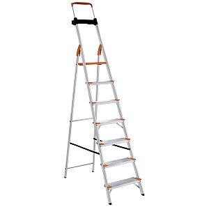 Escada de Alumínio Premium 7 Degraus Ref. 91850/117 Tramontina