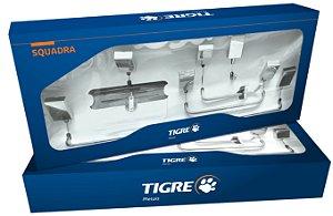 Kit de Acessórios para Banheiro Squadra 5 peças Cromado Ref. 57236 Tigre Metais