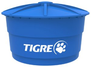 Caixa D'Água Polietileno com Tampa 3000L Tigre