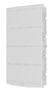 Quadro de Distribuição Embutir Slim 64 Disjuntores Branco Tigre