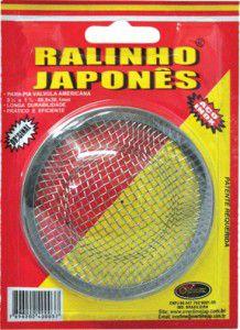 "Ralinho Japonês Inox para Válvula Pia Americana 3.1/2"" Overtime"