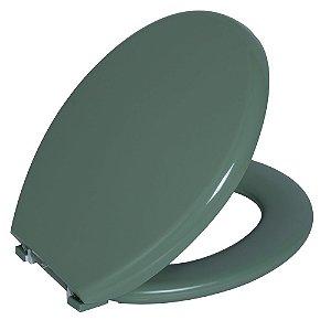 Assento Sanitário Convencional PP Almofadado TPK/AS Verde 3 Astra
