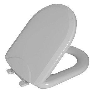 Assento Sanitário Luna PP Almofadado TLU/K Branco Astra