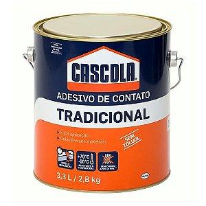 Cola Contato Cascola Tradicional 2,8kg Henkel