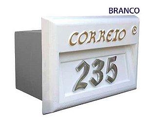 Caixa de Correio para Grade Branca Costa Navarro