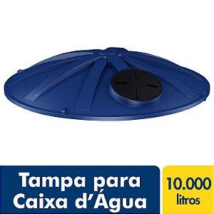 Tampa para Caixa D'água Polietileno 10.000L Fortlev