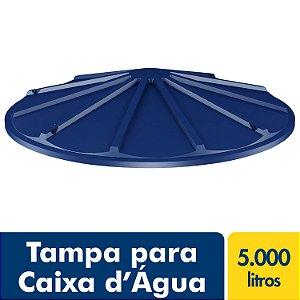 Tampa para Caixa D'água Polietileno 5.000L Fortlev