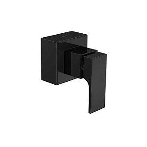 """Acabamento para Registro de Gaveta de 1.1/4"""" e 1.1/2"""" Unic 4900.BL90.GD.NO Black Noir Deca"""