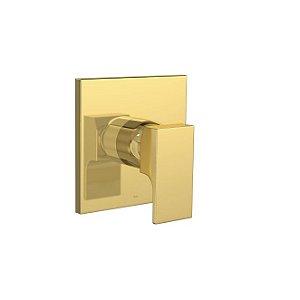 Acabamento de Monocomando para Chuveiro Unic 4993.GL90.CHU Gold Deca