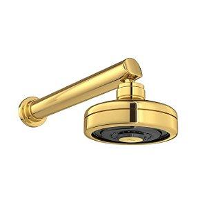 Chuveiro com Tubo de Parede Acqua Plus 1990.GL.CT Gold Deca