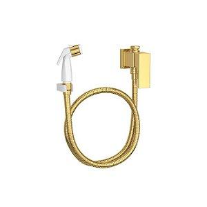 Ducha Higiênica com Registro e Derivação Unic 1984.GL90.ACT Gold Deca