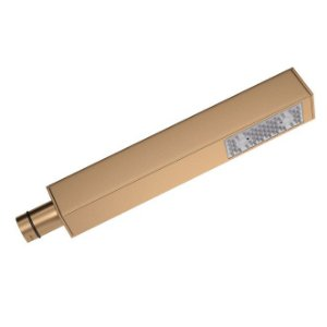 Ducha Manual para Chuveiro Quadrada 4806.GL.QUA.MT Gold Matte Deca
