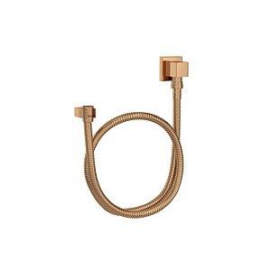 Kit Flexível Quadrado com Suporte para Ducha Manual 1,70m 4604.GL.170.RD Red Gold Deca