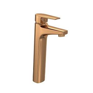Misturador Monocomando de Mesa Bica Alta para Lavatório Level 2885.GL26.RD Red Gold Deca