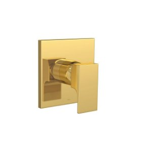Misturador Monocomando de Chuveiro para Baixa e Alta Pressão Unic 2993.GL90.034 Gold Deca